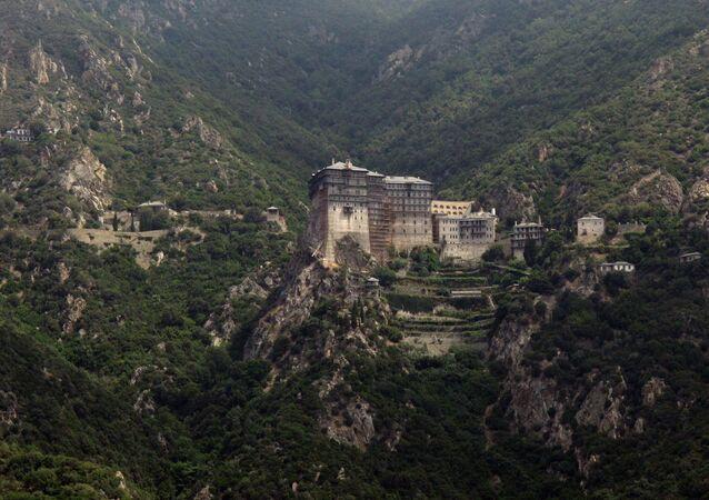 La montaña santa Athos