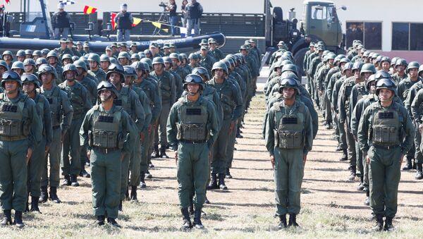 Los soldados de Venezuela - Sputnik Mundo