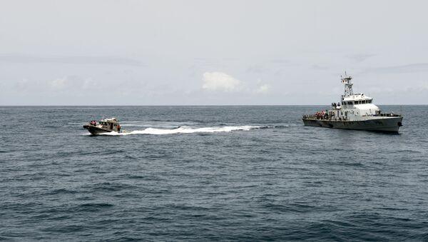Barcos en el golfo de Guinea (imagen referencial) - Sputnik Mundo