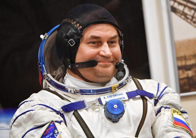 Alexéi Ovchinin, el cosmonauta ruso