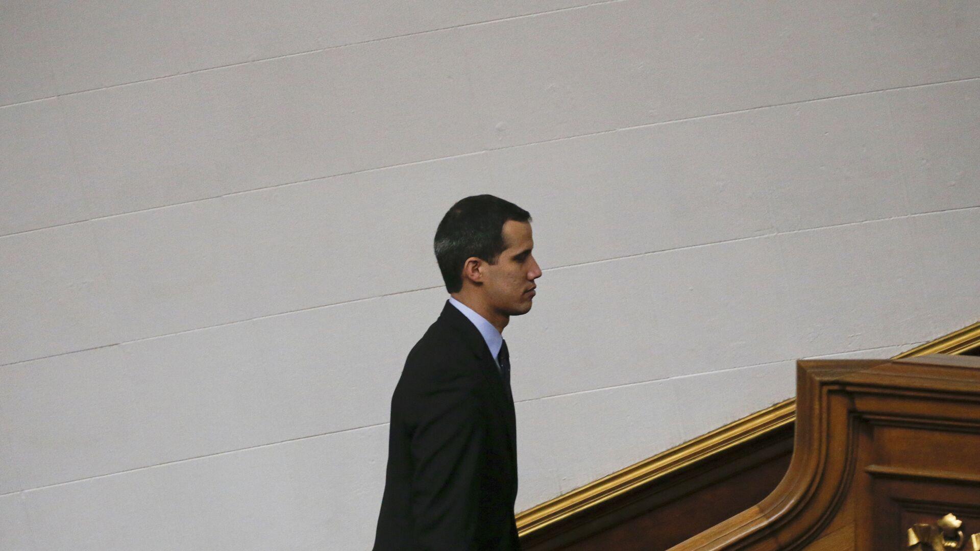 Juan Guaidó, presidente de la Asamblea Nacional de Venezuela - Sputnik Mundo, 1920, 12.05.2021