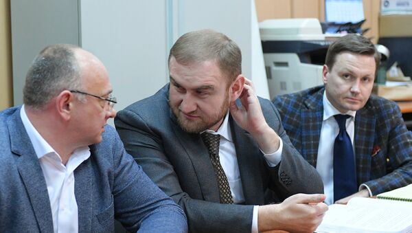 Rauf Arashukov, senador de Karacháyevo-Cherkesia (a la derecha) - Sputnik Mundo