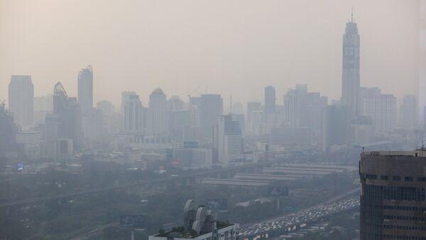 Esmog en Bangkok, la capital de Tailandia - Sputnik Mundo