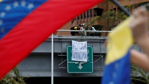 Las protestas de oposición en Venezuela - Sputnik Mundo