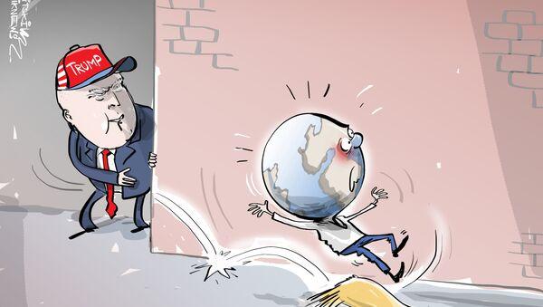 La vergüenza de EEUU está en la Casa Blanca - Sputnik Mundo