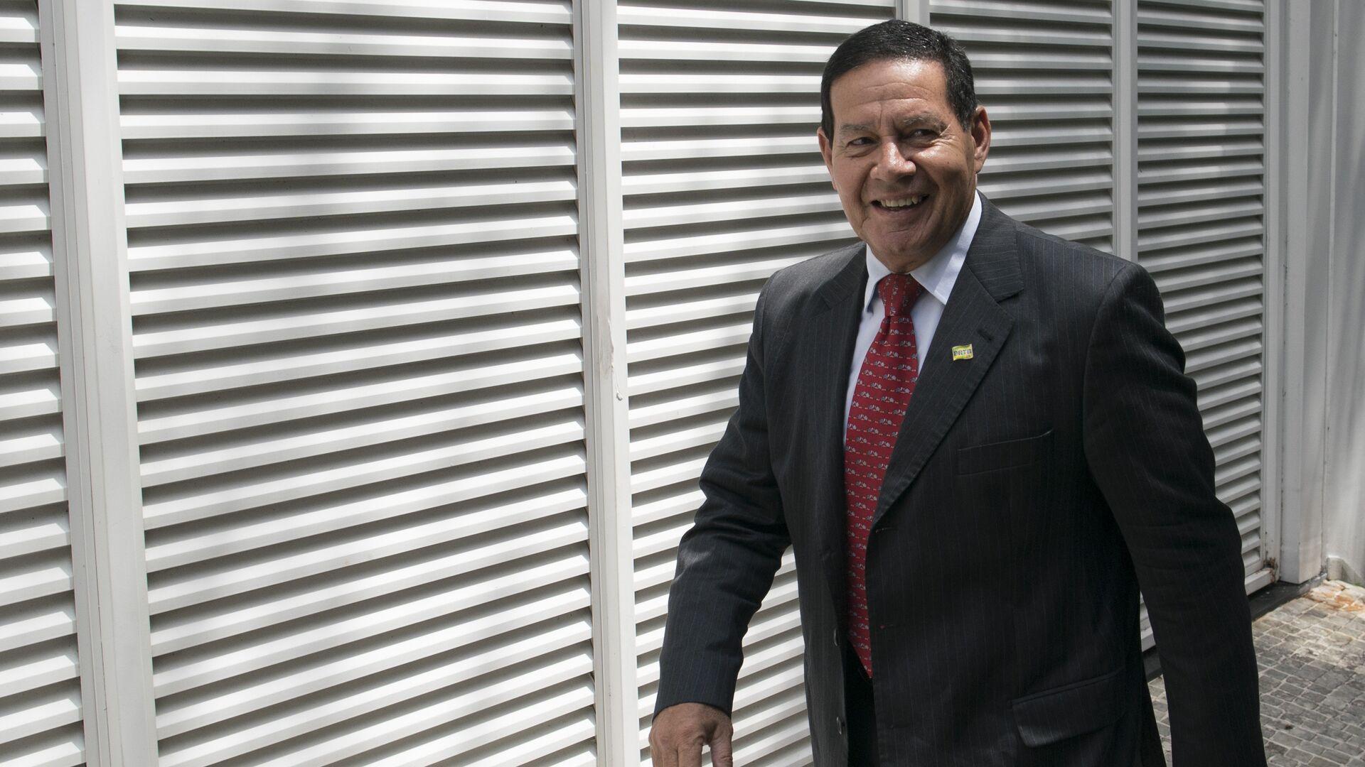 Antonio Hamilton Mourao, vicepresidente de Brasil (archivo) - Sputnik Mundo, 1920, 05.07.2021