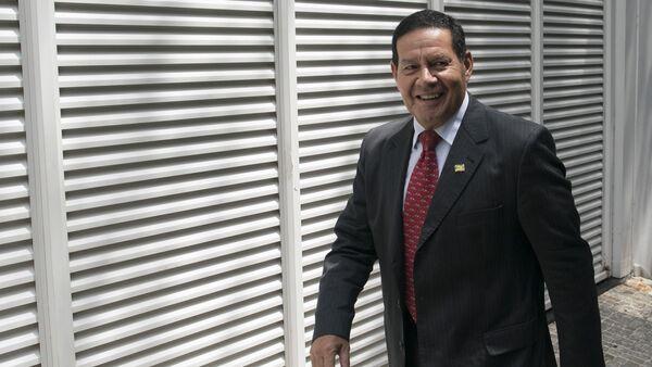 Antonio Hamilton Mourao, vicepresidente de Brasil (archivo) - Sputnik Mundo