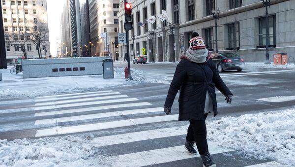 Ola de frío extremo en EEUU - Sputnik Mundo