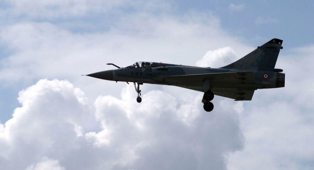 Caza Dassault Mirage 2000 (archivo)