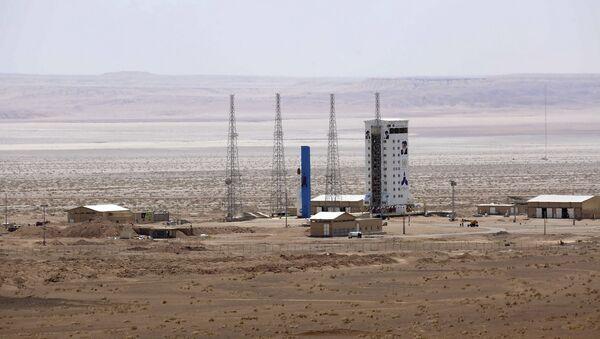 Lanzamiento de un satélite en Irán (archivo) - Sputnik Mundo