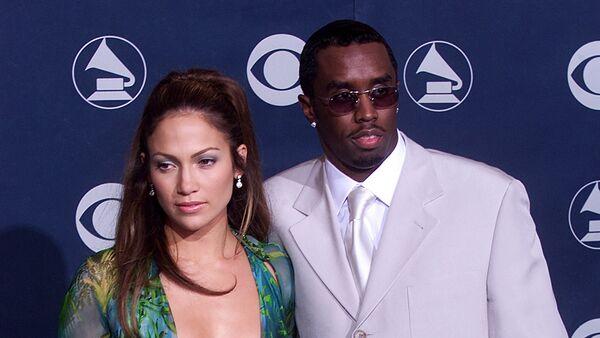 Jennifer López y Sean Combs, en 2000 - Sputnik Mundo