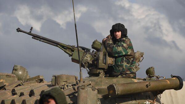 Militares del Ejército sirio (archivo) - Sputnik Mundo