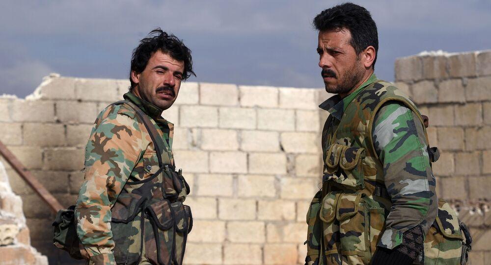 Militares sirios (archivo)