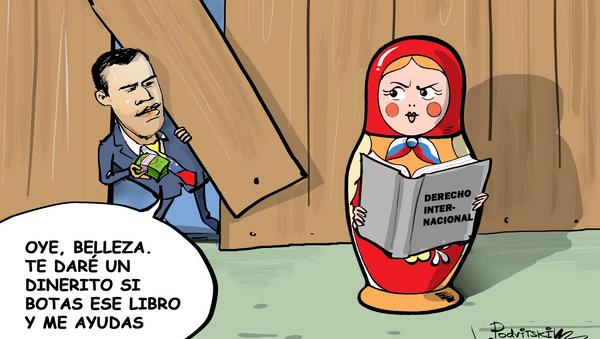Cómo Guaidó busca 'seducir' a Rusia - Sputnik Mundo