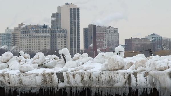 Los estragos causados por la ola de frío en EEUU - Sputnik Mundo