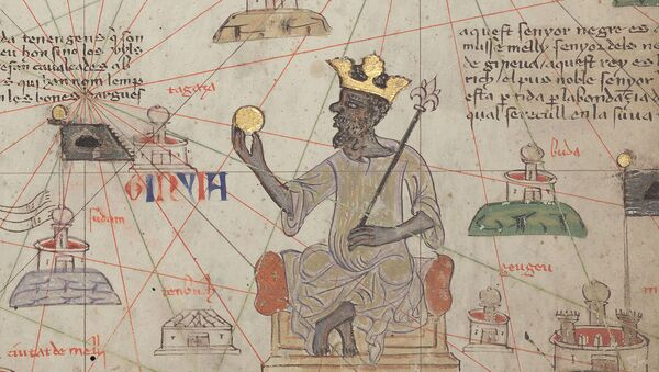 Mansa Musa en el Atlas Catalán - Sputnik Mundo