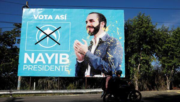 La campaña electoral de Nayib Bukele - Sputnik Mundo