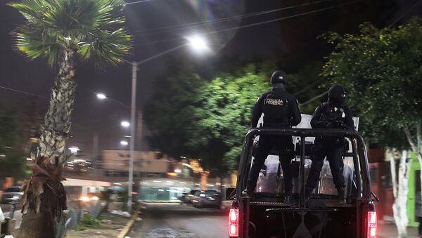 Policías mexicanos en Tijuana - Sputnik Mundo