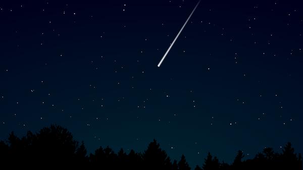 Un meteoro, imagen ilustrativa - Sputnik Mundo