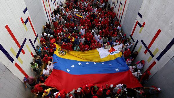 Manifestación en apoyo de Maduro - Sputnik Mundo