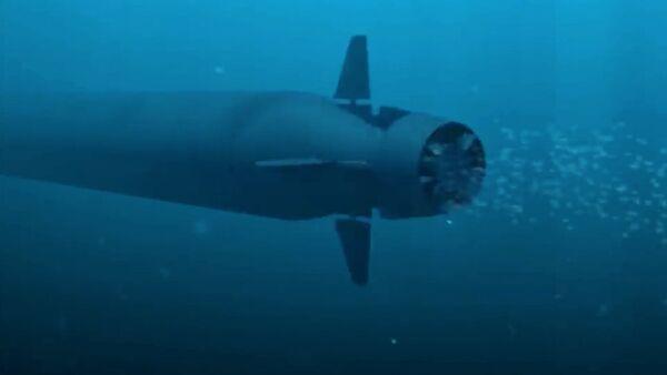 El dron submarino Poseidón - Sputnik Mundo