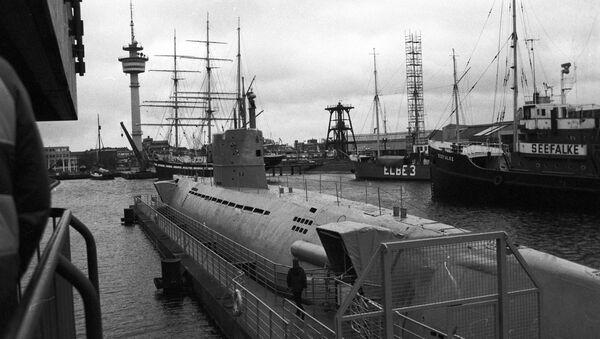 Un antiguo submarino de Alemania - Sputnik Mundo