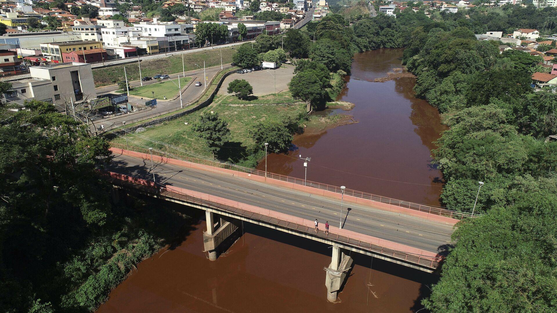 Vista del río Paraobeba en Brumadinho, Brasil - Sputnik Mundo, 1920, 27.05.2021