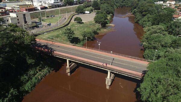 Vista del río Paraobeba en Brumadinho, Brasil - Sputnik Mundo