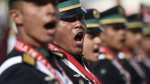 Militares venezolanos, foto de archivo - Sputnik Mundo