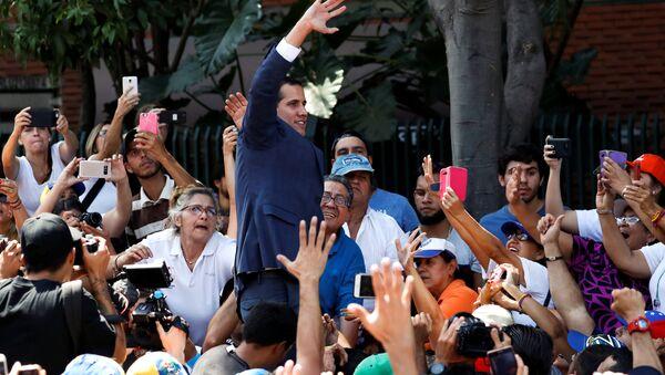 Juan Guaido, líder de la oposición venezolana - Sputnik Mundo