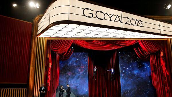 El logo del Premio Goya - Sputnik Mundo