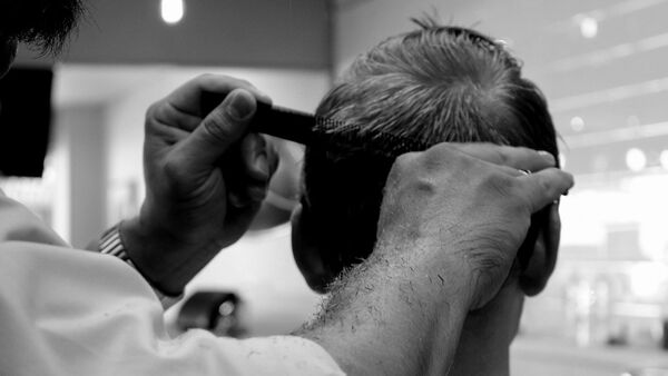 Una peluquería, referencial - Sputnik Mundo