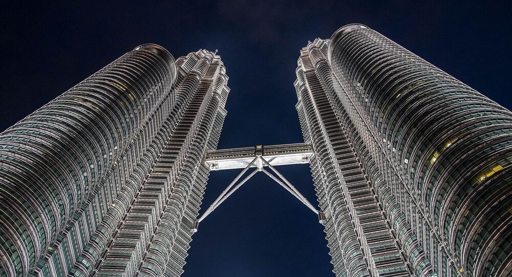 Torres gemelas Petronas en Malasia