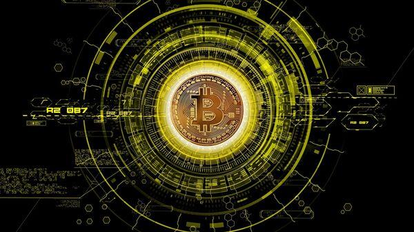 Bitcoin, criptomoneda - Sputnik Mundo