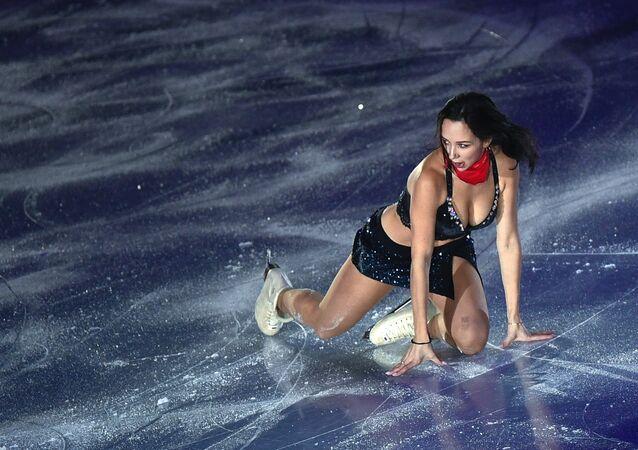 Elizaveta Tuktamísheva en su actuación sensacional