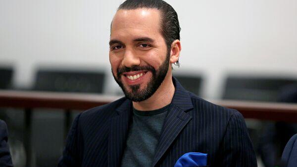 Nayib Bukele, candidato a la presidencia de El Salvador - Sputnik Mundo