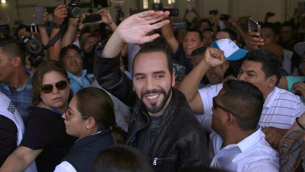 Nayib Bukele, político salvadoreño, vencedor de las presidenciales de 2019 - Sputnik Mundo
