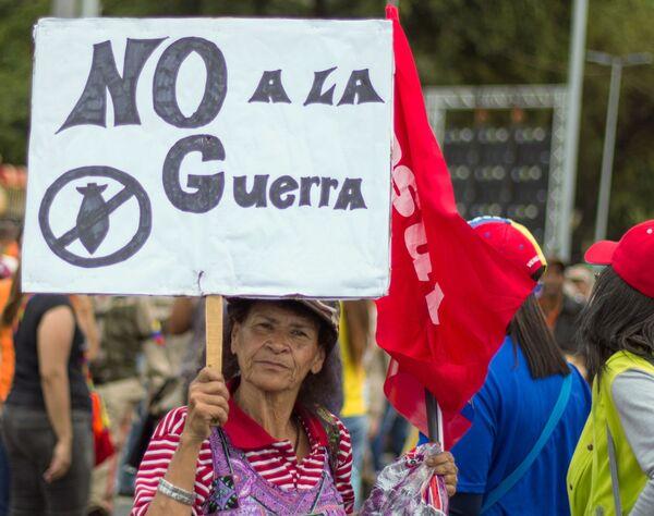 Las dos caras de Caracas: las manifestaciones con los partidarios de Maduro y Guaidó - Sputnik Mundo