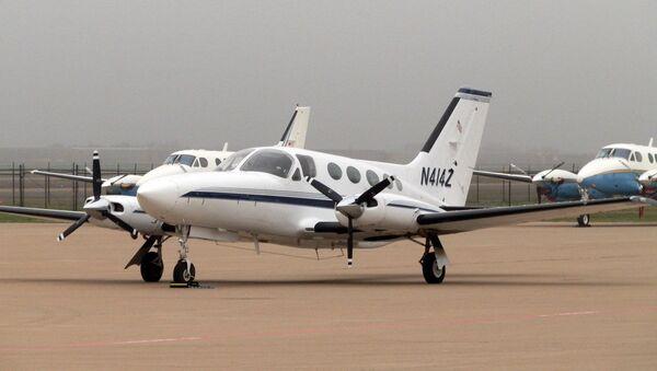 Un Cessna 414, imagen referencial - Sputnik Mundo
