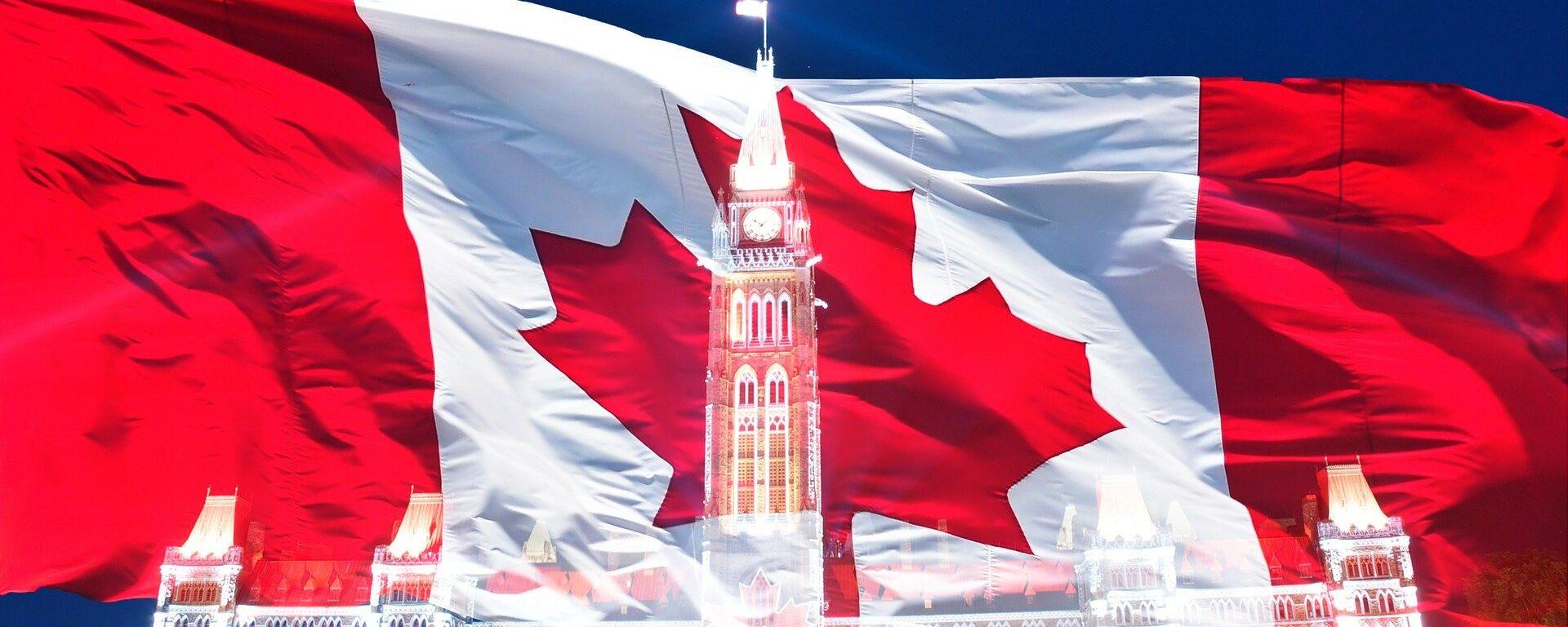 La bandera de Canadá - Sputnik Mundo, 1920, 26.09.2020