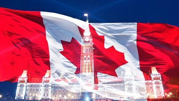 La bandera de Canadá - Sputnik Mundo