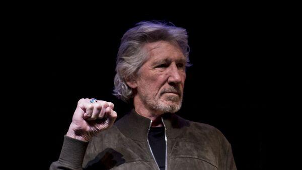 Roger Waters, músico y activista británico - Sputnik Mundo
