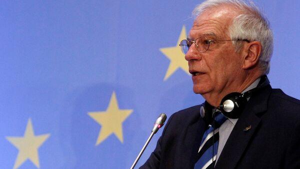 Josep Borrell, ministro de Exteriores español - Sputnik Mundo