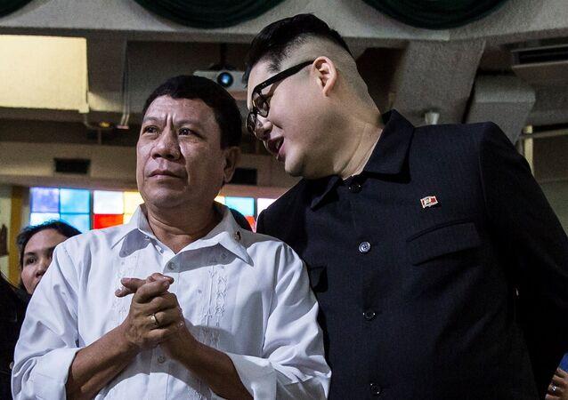 Los dobles de Rodrigo Duterte y Kim Jong-un