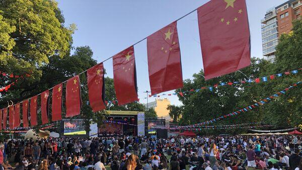 Festejos del Año Nuevo Chino en Buenos Aires - Sputnik Mundo