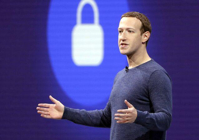 Mark Zuckerberg, fundador de Facebook (archivo)