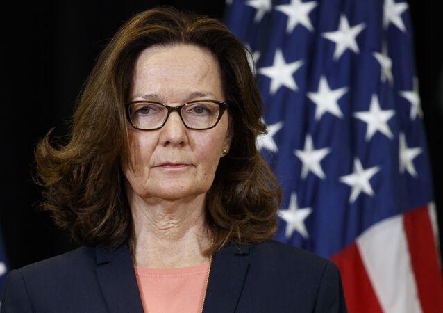 Gina Cheri Haspel, directora de la CIA