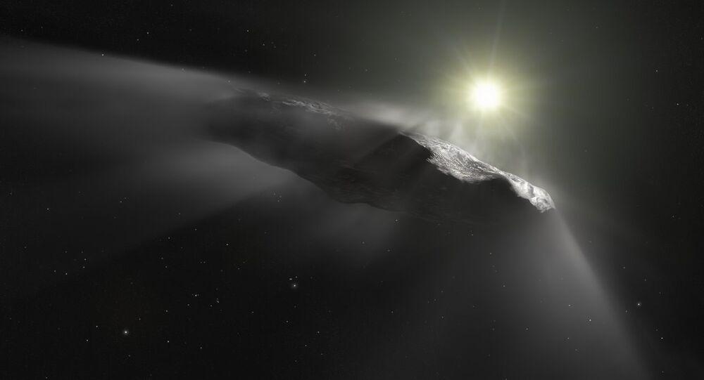 La roca interestelar Oumuamua