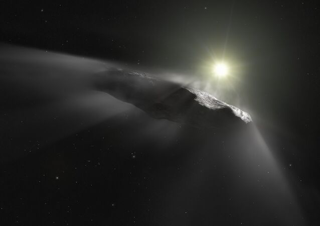 La roca interestelar Oumuamua