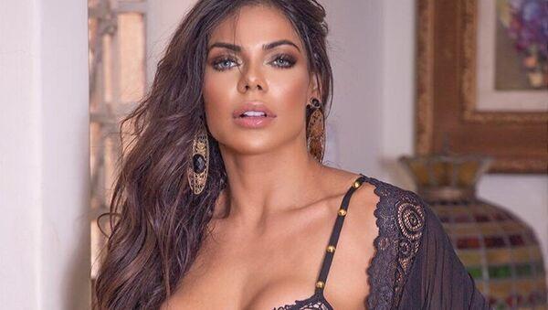 Suzy Cortez, modelo brasileña y Miss BumBum 2015 - Sputnik Mundo